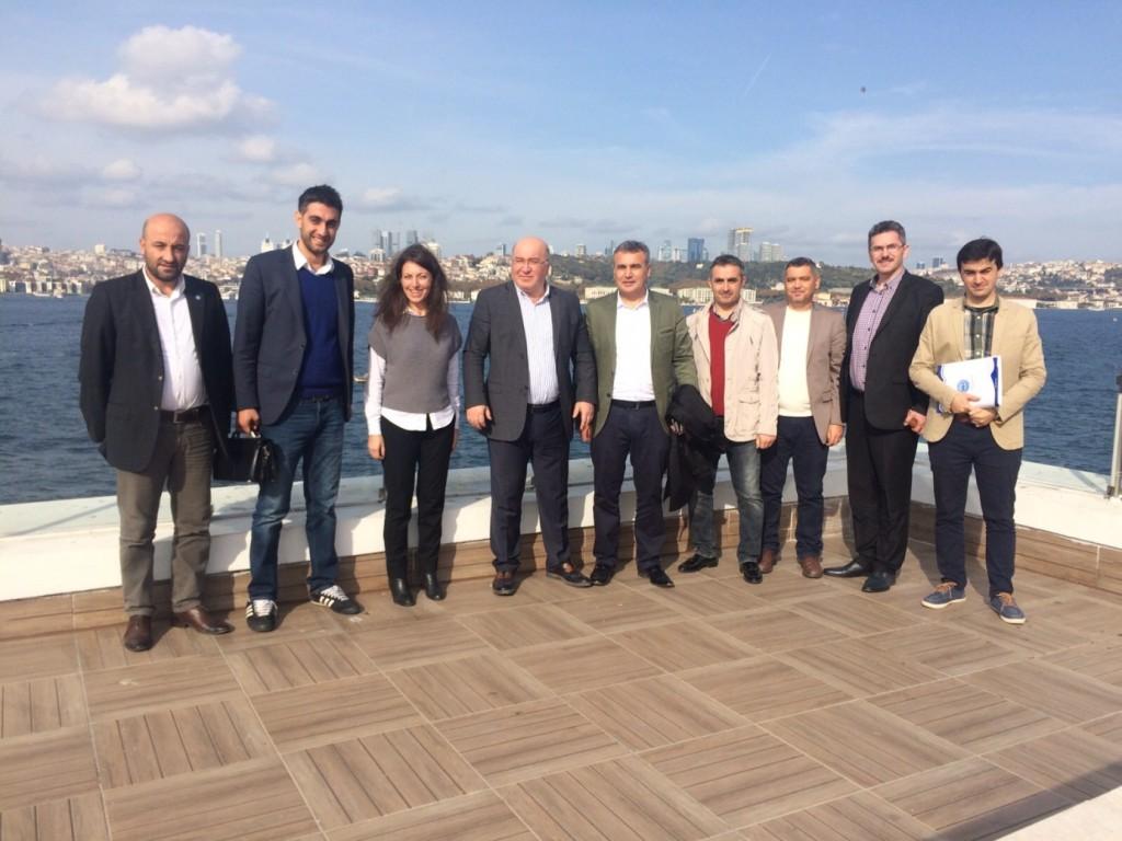Memursen Genel Başkan Yardımcısı Hacı Bayram Tombul ve Yönetim Hizmetleri Daire Başkanı Uğur Ünalan' ı ziyaret.