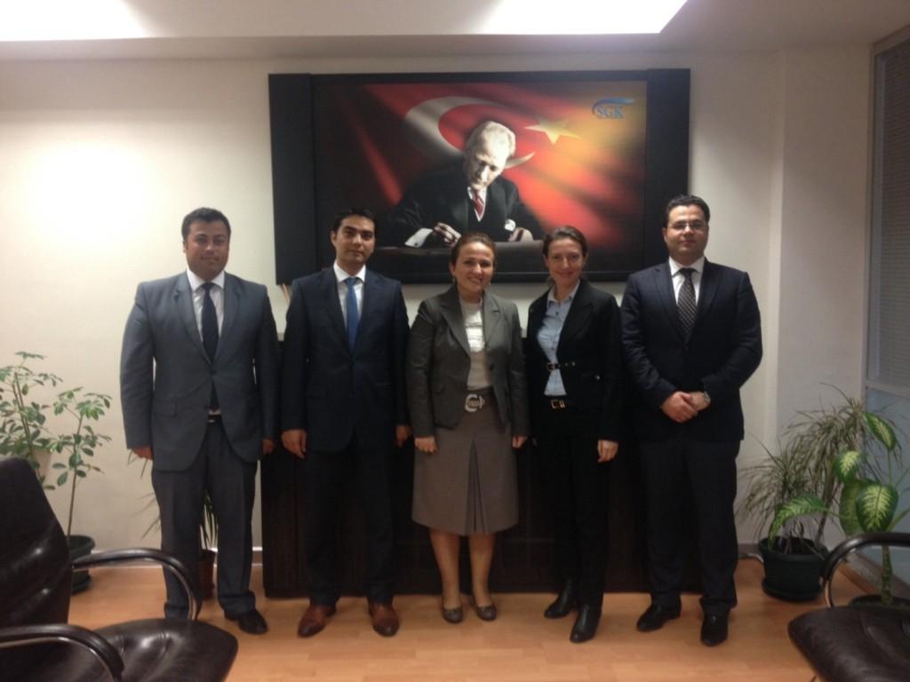 Çorlu Merkez Müdürü Zeynep Cevher Yılmaz' ı ziyaretimiz.