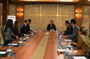 Yadigar Gökalp Ilhan Dernek Yönetim Kurulunu Kabul Etti